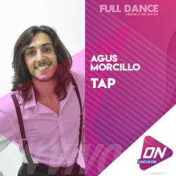 Tap - Agus Morcillo. Viernes 14/08 10:00hs. Clases Online en Vivo