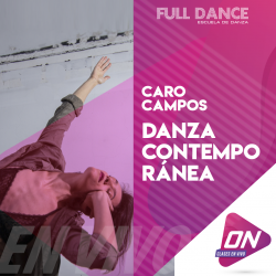 Flying Low - Caro Campos. Miércoles 12/08 18:30hs. Clases Online en Vivo