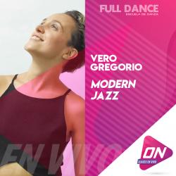 Modern Jazz - Vero Gregorio. Martes 14/07 19:30hs. Clases Online en Vivo