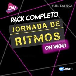 Jornada de Ritmos ON WKND COMPLETA - 8 Clases. Sábado 18 y Domingo 19 de Julio