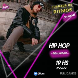 Hip Hop. Belu Arendt. 19/07 19hs. Jornada de Ritmos ON WKND