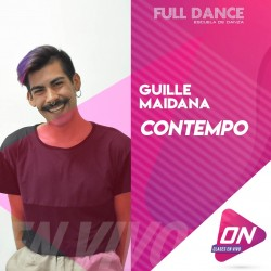 Contemporáneo - Guille Maidana. Jueves 29/10 16:00hs. Clases Online en Vivo