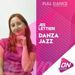 Danza Jazz - Jessi Lettieri. Miércoles 28/10 19:30hs. Clases Online en Vivo