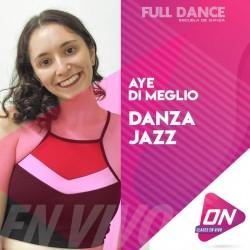Jazz - Aye Di Meglio. Viernes 23/10 18:00hs. Clases Online en Vivo