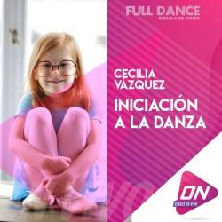 Iniciación a la Danza - Cecilia Vazquez. Martes 27/10 16:00hs. Clases Online en Vivo