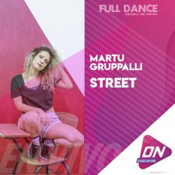 Street - Martu Gruppalli. Jueves 09/07 20:00hs. Clases Online en Vivo