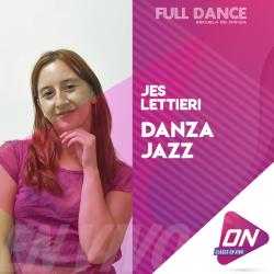 Jazz - Jes Lettieri. Viernes 10/07 18:00hs. Clases Online en Vivo