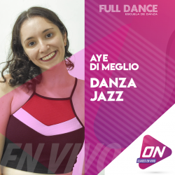 Jazz - Aye Di Meglio. Sábado 11/07 19:00hs. Clases Online en Vivo