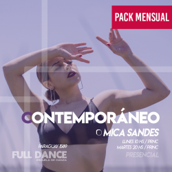 CONTEMPORÁNEO - Mica Sandes -  ONLINE ZOOM LUNES 10:00hs - PACK 10/17/31 de MAYO