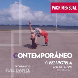 CONTEMPORÁNEO - Beli Rotela -  ONLINE ZOOM LUNES 18:30hs -  PACK 10/17/31 de MAYO