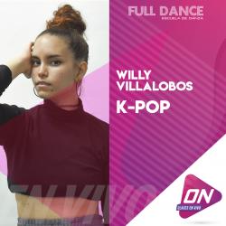 K-Pop - Willy Villalobos. Viernes 29/06 18:00hs. Clases Online en Vivo