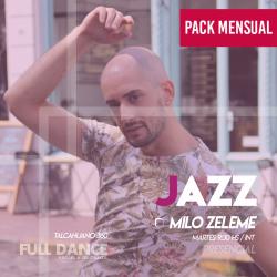 DANZA JAZZ - Milo Zeleme - ONLINE ZOOM MARTES 09:30 HS - PACK MAYO 11/18