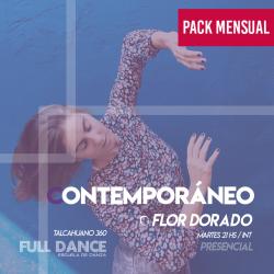 CONTEMPORÁNEO - Flor Dorado -  ONLINE ZOOM MARTES 21:00hs -  PACK MAYO 11/18