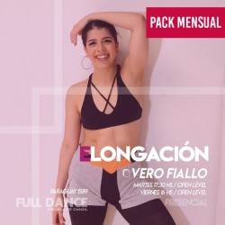 ELONGACIÓN - Vero Fiallo - ONLINE ZOOM MARTES 17:30 HS - PACK ABRIL:  20 y 27 de abril