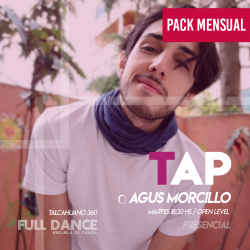TAP - Agustin Morcillo - ONLINE ZOOM MARTES 18:30 HS -  PACK MAYO 11/18
