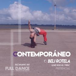 Contemporáneo - Beli Rotela -  Presencial LUNES 18:30hs - PACK AGOSTO
