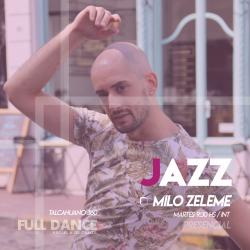 DANZA JAZZ - Milo Zeleme - Presencial MARTES 09:30 HS - PACK AGOSTO