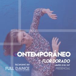 Contemporáneo - Flor Dorado -  Presencial MARTES 20:00hs - PACK AGOSTO
