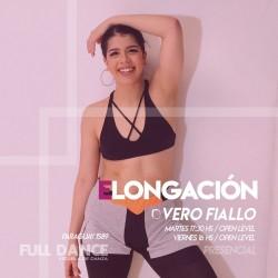 ELONGACIÓN - Vero Fiallo - Presencial MARTES 17:30 HS - 26 de  OCTUBRE