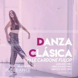 DANZA CLÁSICA - Vale Cardone Fulop - Presencial MIERCOLES 18:00 HS - PACK AGOSTO