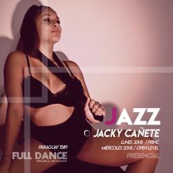 DANZA JAZZ - Jacky Cañete - Presencial MIERCOLES 20:00 HS - PACK AGOSTO