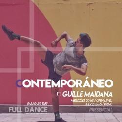 CONTEMPORÁNEO - Guille Maidana - Presencial MIÉRCOLES 20:00 HS - 27 de OCTUBRE