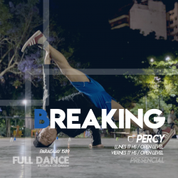 BREAKING - Pablo Percy - Presencial LUNES 17:00 HS - PACK AGOSTO