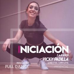 INICIACIÓN A LA DANZA  (3 a 6 años)  - Viqui Padilla - Presencial LUNES 17:00 HS - PACK AGOSTO