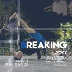 BREAKING - Pablo Percy - Presencial JUEVES 17:00 HS -  PACK AGOSTO