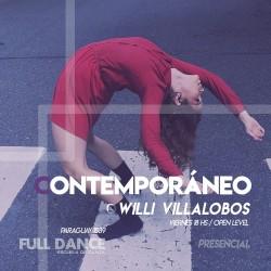 CONTEMPORÁNEO - Willy Villalobos - Presencial VIERNES 18:00 HS - PACK AGOSTO