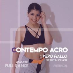 CONTEMPORÁNEO ACRO - Vero Fiallo - Presencial VIERNES 17:00 HS -  22 Y 29 OCTUBRE