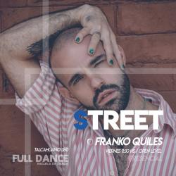 STREET JAZZ - Franco Quiles - Presencial VIERNES 11:30 HS - PACK AGOSTO