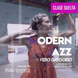 MODERN JAZZ - Vero Gregorio - CLASE SUELTA ONLINE ZOOM LUNES 11:30 HS -  07 de JUNIO
